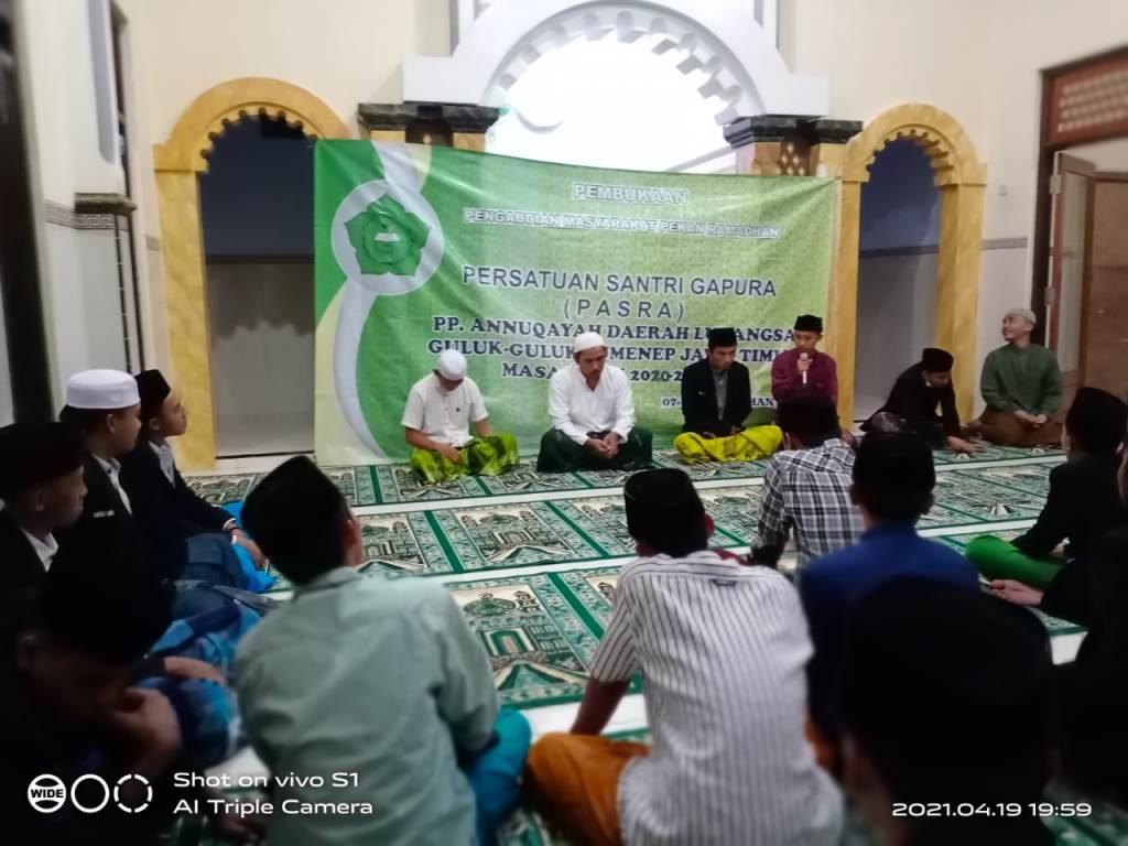 Rafi'uddin Al-Farisi; membuka kegiatan Pekan Ramadhan Pasra